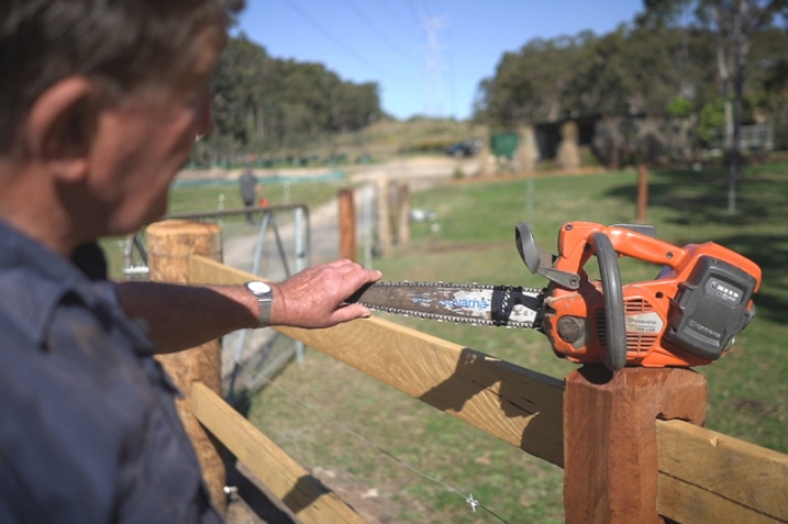 Working with Chainsaws – a Beginners Guide